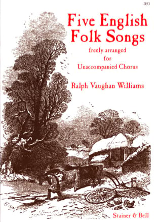 Williams Ralph Vaughan - 5 English Folk Songs - Sheet Music - di-arezzo.com