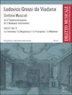 Ludovico de Viadana Grossi - Sinfonie Musicali Volume 2. 2 Orgues - Partition - di-arezzo.fr