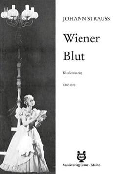 Johann Strauss - Wiener Blut - Partition - di-arezzo.fr