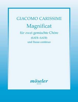 Magnificat - Giacomo Carissimi - Partition - Chœur - laflutedepan.com