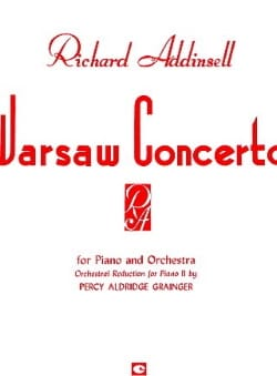 Richard Addinsell - Warsaw Concerto. - Partition - di-arezzo.co.uk