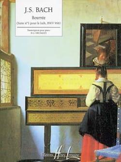Bourrée - BACH - Partition - Piano - laflutedepan.com