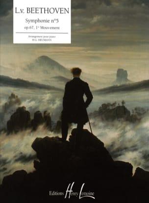 Symphonie N°5, 1er Mouvement BEETHOVEN Partition Piano - laflutedepan
