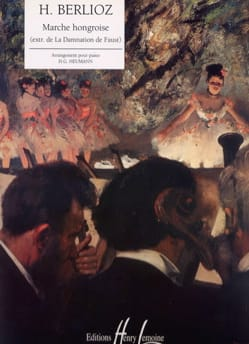 Marche Hongroise BERLIOZ Partition Piano - laflutedepan