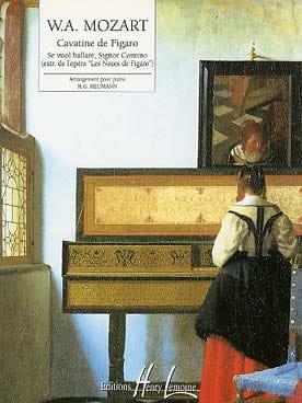 Cavatine De Figaro - MOZART - Partition - Piano - laflutedepan.com