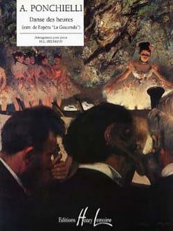 Danse des Heures Amilcar Ponchielli Partition Piano - laflutedepan