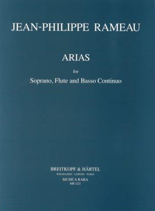 Jean-Philippe Rameau - Arias pour soprano, flûte et continuo - Partition - di-arezzo.fr