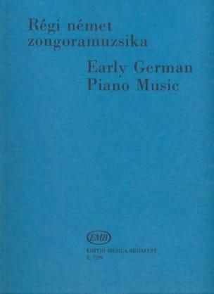 Early German Piano Music - Partition - di-arezzo.co.uk