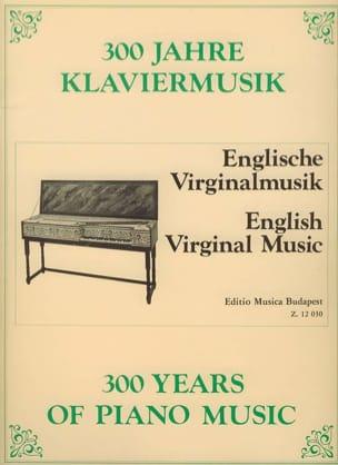 - English Virginal Music - Sheet Music - di-arezzo.co.uk