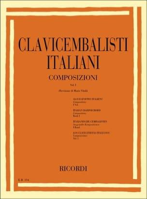 Clavecinistes Italiens Volume 1 - Partition - laflutedepan.com