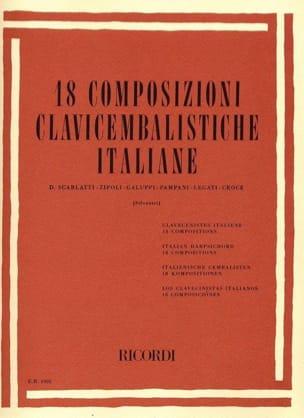 - 18 Composizioni Clavicembalistiche Italiane - Partition - di-arezzo.fr