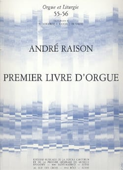 André Raison - 1er Livre D'orgue Volume 1 - Partition - di-arezzo.fr