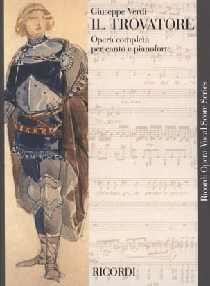 VERDI - He Trovatore. - Sheet Music - di-arezzo.co.uk