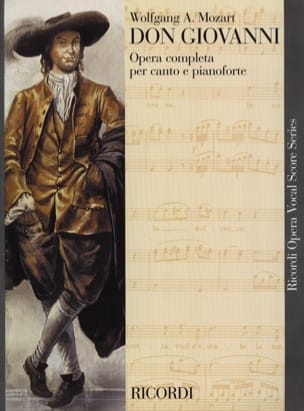 MOZART - Don Giovanni K 527 - Partitura - di-arezzo.it