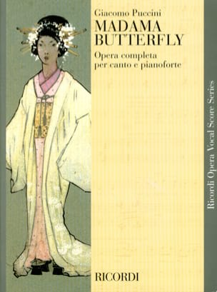 Giacomo Puccini - Madama Butterfly - Sheet Music - di-arezzo.co.uk
