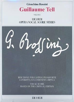 Guglielmo Tell - Gioachino Rossini - Partition - laflutedepan.com