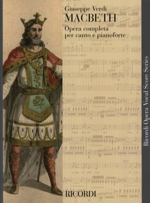 VERDI - Macbeth - Sheet Music - di-arezzo.co.uk