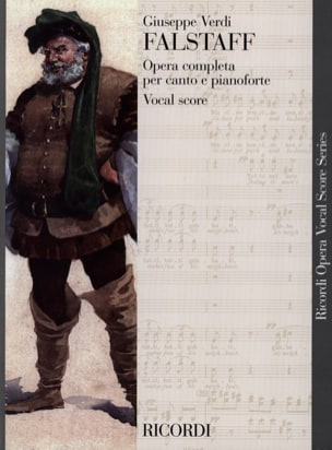 VERDI - Falstaff - Sheet Music - di-arezzo.co.uk
