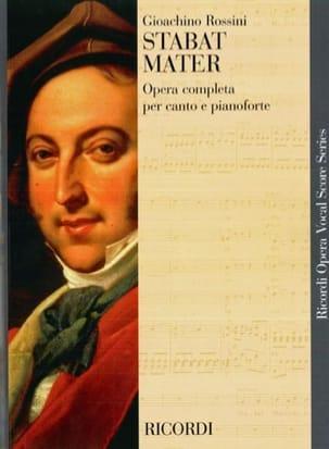 Gioachino Rossini - Stabat Mater - Partition - di-arezzo.fr