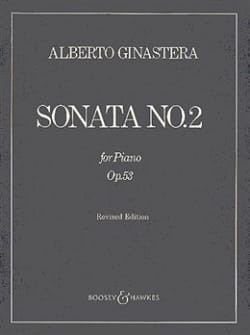 Alberto Ginastera - Sonata For Piano N ° 2 Opus 53 - Partition - di-arezzo.co.uk