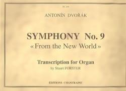 Anton Dvorak - Symphonie N°9 - Partition - di-arezzo.fr