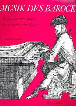 Musik Des Barock Partition Clavecin - laflutedepan
