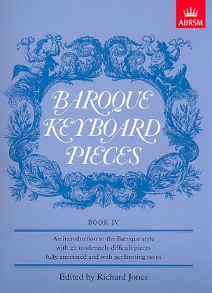 - Baroque Keyboard Pieces Volume 4 - Sheet Music - di-arezzo.com