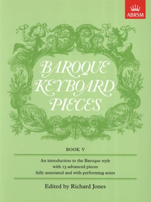 - Baroque Keyboard Pieces Volume 5 - Sheet Music - di-arezzo.com