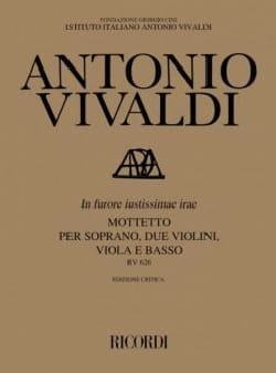 VIVALDI - In Furore Justissimae Irae RV 626 - Sheet Music - di-arezzo.co.uk