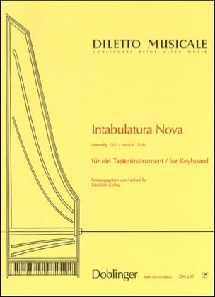 - Intabulatura Nova - Sheet Music - di-arezzo.co.uk