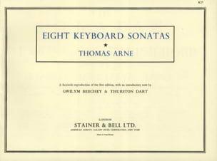 8 Sonatas Or Lessons Thomas Augustine Arne Partition laflutedepan