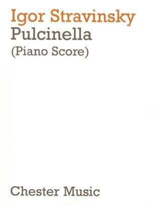 Igor Stravinski - Pulcinella - Partition - di-arezzo.fr
