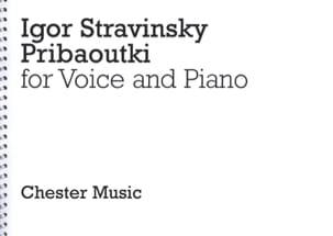 Pribaoutki - STRAVINSKY - Partition - Mélodies - laflutedepan.com