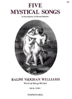 Williams Ralph Vaughan - 5 Mystical Songs - Partition - di-arezzo.com