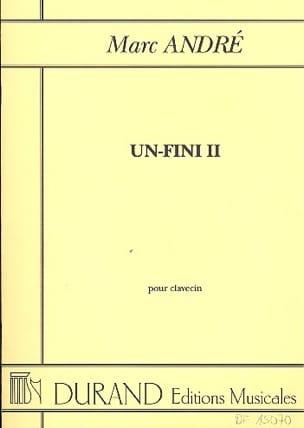 Un-Fini 2 (1996) - André - Partition - Clavecin - laflutedepan.com
