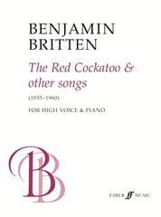 Benjamin Britten - The Red Cockatoo And Other Songs - Partition - di-arezzo.fr