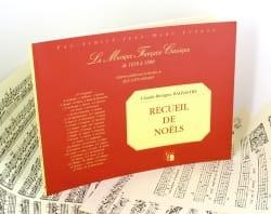 Recueil De Noëls - Claude-Bénigne Balbastre - laflutedepan.com