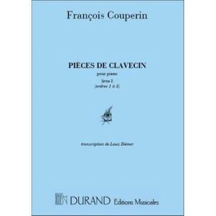 François Couperin - Volumen de partes de clavecín 1 - Partitura - di-arezzo.es