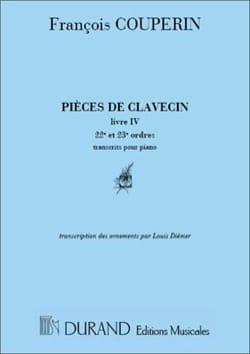 Pièces De Clavecin Livre 4-2. Volume 12 - laflutedepan.com