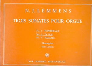 Nicolas-Jacques Lemmens - Sonata No. 2 O Filii - Sheet Music - di-arezzo.co.uk