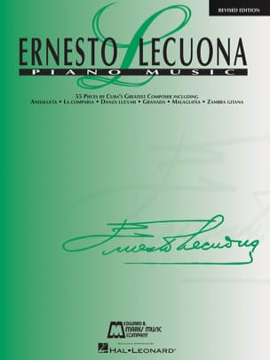 Ernesto Lecuona - Piano Music - Partition - di-arezzo.fr