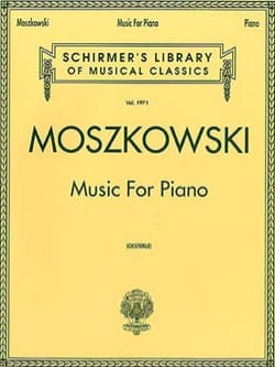 Moritz Moszkowski - Music For Piano - Sheet Music - di-arezzo.com