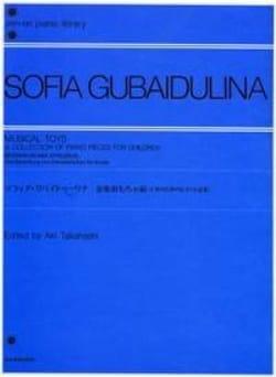 Sophia Gubaidulina - Musical Toys - Partition - di-arezzo.fr