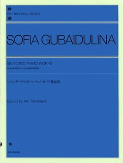 Selected Piano Pieces Sophia Gubaidulina Partition laflutedepan