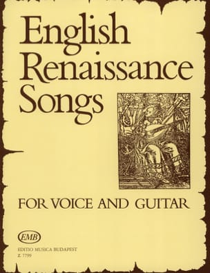 English Renaissance Songs Partition Guitare - laflutedepan