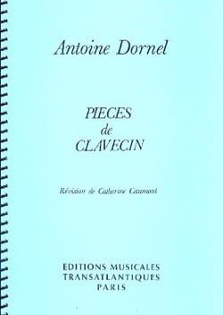 Antoine Dornel - Pièces De Clavecin - Partition - di-arezzo.fr