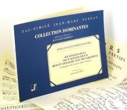 8 Sonates Et 1 Menuet - Johann Gottfried Eckard - laflutedepan.com