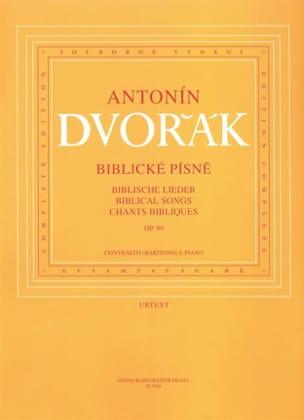 Anton Dvorak - Biblicke Pisne Opus 99. Voix Moyenne - Partition - di-arezzo.fr