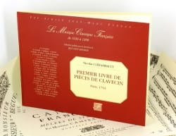 Louis-Nicolas Clérambault - 1st Book of Harpsichord Pieces - Sheet Music - di-arezzo.co.uk
