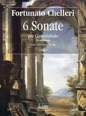 6 Sonates - Fortunato Chelleri - Partition - laflutedepan.com